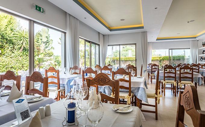 Sala Interior Restaurante São domingos